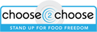 Choose2Choose - Stand Up for Food Freedom Badge
